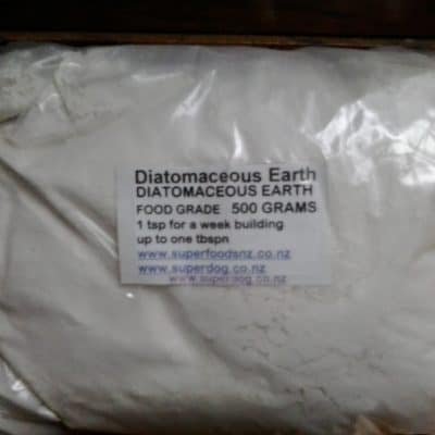Diatomaceous Earth, Fossil Shell Flour, Food Grade 500g