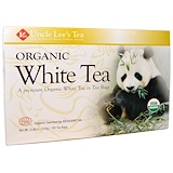 White Tea bags, Organic, 100 Tea Bags, 5.29 oz (150 g), Uncle Lee's Tea