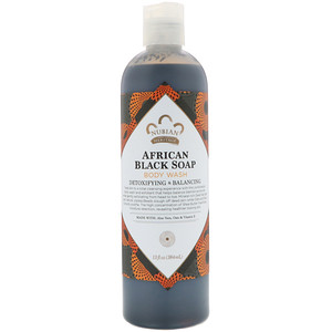 African Black Soap, Body Wash, (384 ml), Nubian Heritage