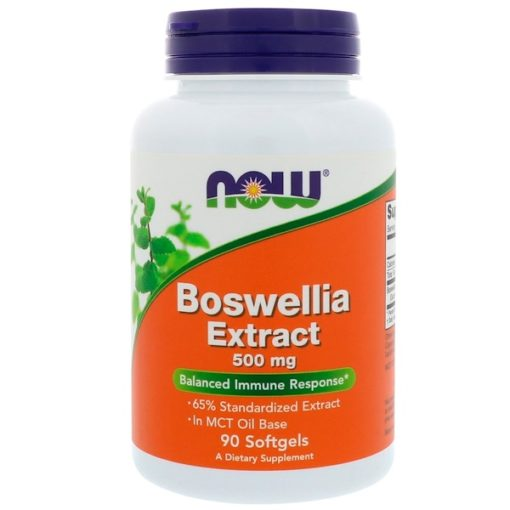 Boswellia Extract, 500 mg, 90 Softgels, Now Foods