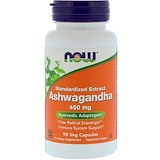 Ashwagandha, Withania, 450 mg, 90 Veggie Caps, Now Foods