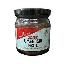Organic Umeboshi Paste, Pickled Plum Condiment
