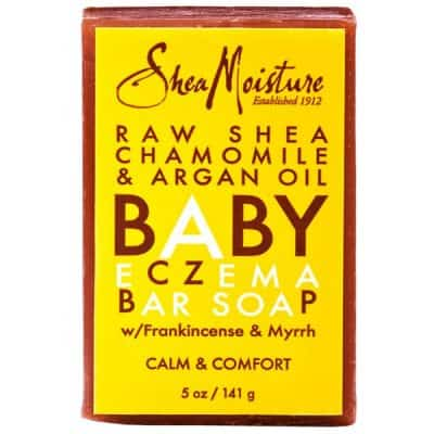 Baby Eczema Bar Soap, Raw Shea Chamomile & Argan Oil