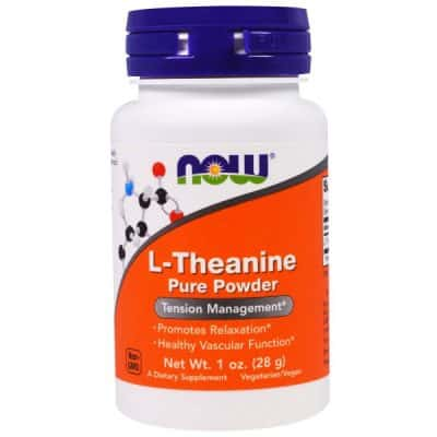 L-Theanine, Pure Powder, 1 oz (28 g)