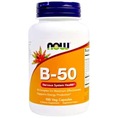 B-50, 100 Veggie Caps, B-Vitamins plus Choline and Inositol