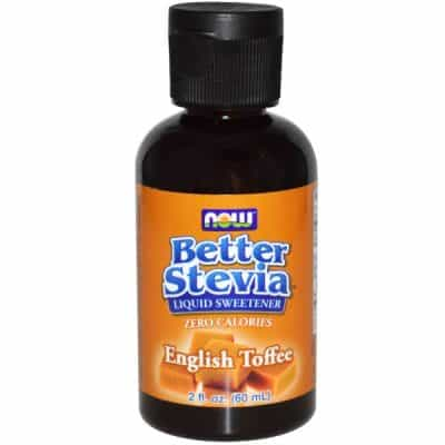 Better Stevia Liquid Sweetener, English Toffee