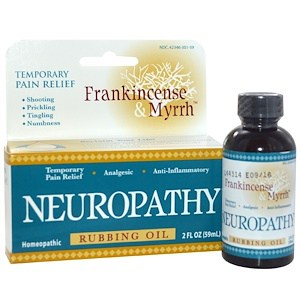 Frankincense & Myrrh, Neuropathy, Rubbing Oil