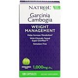 Garcinia Cambogia Extract, Appetite Intercept, 120 Capsules, Natrol