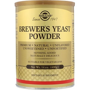 Brewer's Yeast Powder, 14 oz (400 g), Solgar