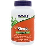Sleep, Botanical Sleep Blend, 90 Veggie Caps, Now Foods