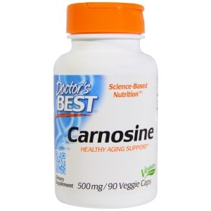 Carnosine, 500 mg, 90 Veggie Caps, Doctor's Best