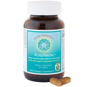 PureNatal, Prenatal Multi for Mum and Baby, 120 Tablets, The Synergy Company