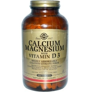 Calcium Magnesium with Vitamin D3, 300 Tablets, Solgar