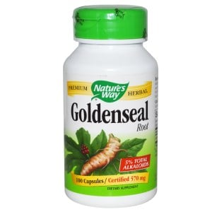 Goldenseal Root, 570 mg, 100 Caps, Nature's Way