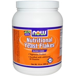 Nutritional Yeast Flakes, 10 oz (284 g), Now Foods