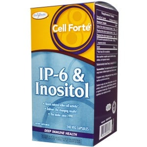 IP6 + Inositol, Deep Immune Health, Cell Forte, 240 Veggie Caps, Enzymatic Therapy