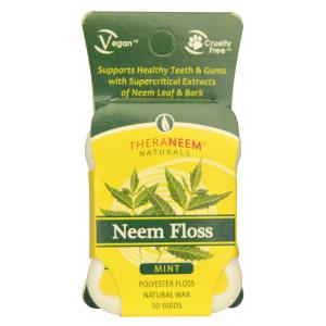 Neem Floss, Mint, 50 Yards, Organix South, TheraNeem Naturals