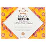 Mango Butter Bar Soap, with Shea + Cocoa Butters, 5oz (142g), Nubian Heritage