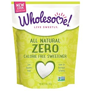 Organic Zero Calorie Free Sweetener, 12 oz (340 g), Wholesome Sweeteners Inc