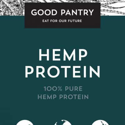 HEMP PROTEIN,100% pure, 400g, Good Pantry