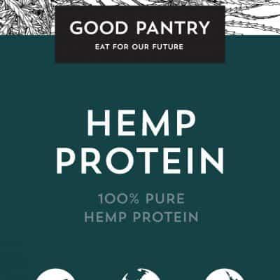 HEMP PROTEIN,100% pure, 400g, Good Pantry