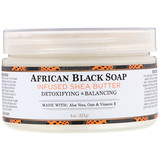Shea Butter, Infused with African Black Soap Extract, 4 oz (114 g), Nubian Heritage