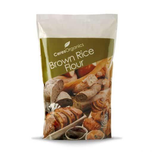 Organic Rice Flour, Brown - 1kg, Ceres