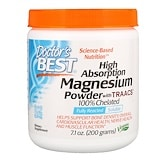 High Absorption Magnesium Powder, with TRAACS, 7.1 oz (200 g), Doctor's Best
