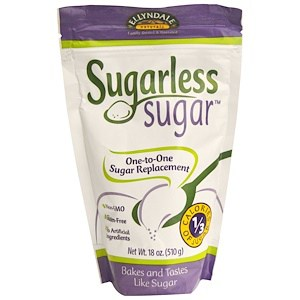 Ellyndale Naturals, Sugarless Sugar, 18 oz (510 g), Now Foods
