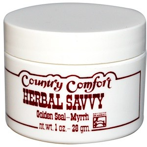 Herbal Savvy, Golden Seal-Myrrh, 1oz, Country Comfort