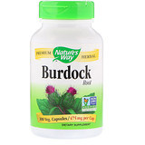 Burdock Root, 475 mg, 100 Veg Capsules, Nature's Way