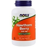 Hawthorn Berry, 540 mg, 100 Capsules, Now Foods