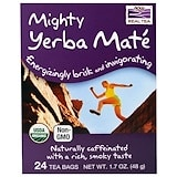 Organic Real Tea, Mighty Yerba Mate, 24 Tea Bags, 1.7 oz (48 g), Now Foods