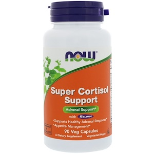 Super Cortisol Support, 90 Veggie Caps, Now Foods