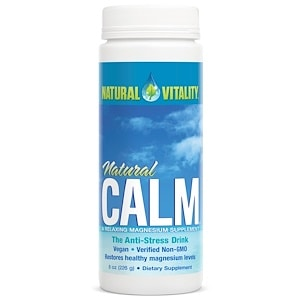Natural Calm, The Anti-Stress Drink, Original (Unflavored), 8 oz (226 g), Natural Vitality