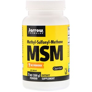 MSM, Powder, 7 oz (200 g), Jarrow Formulas