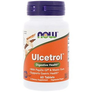 Ulcetrol, 60 Tablets, Now Foods