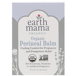 Perineal Balm, Organic, 2 fl oz (60 ml), Earth Mama