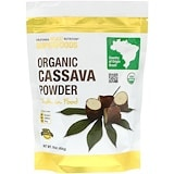 Organic Cassava Powder, 16 oz (454 g), Superfoods, California Gold Nutrition