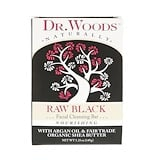 Raw Black Soap, Facial Cleansing Bar, 5.25 oz (149 g), Dr. Woods