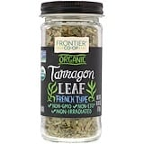 Tarragon Leaf, French Type, 0.42 oz (12 g), Organic, Frontier Natural Products