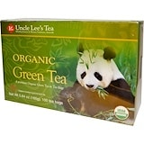 Organic Green Tea, 100 Tea Bags, 5.64 oz (160 g), Uncle Lee's Tea