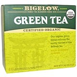 Organic Green Tea, 40 Tea Bags, 1.82 oz (51 g), Bigelow