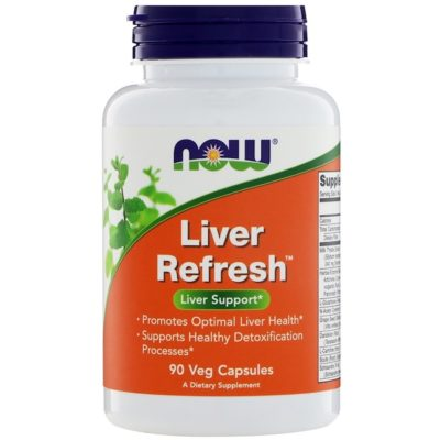 Liver Refresh, 90 Veg Capsules, Now Foods