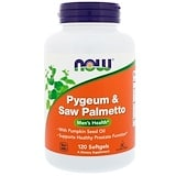 Pygeum & Saw Palmetto, 120 Softgels, Now Foods