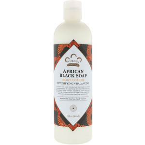 African Black Soap, Body Lotion, 13 fl oz (384 ml), Nubian Heritage