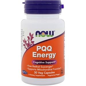 PQQ Energy, 30 Veggie Caps, Now Foods