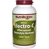 Buffered Electro-C, Lemon Flavor, 16 oz (454 g), NutriBiotic