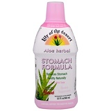 Aloe Herbal Stomach Formula, Mint, 32 fl oz (946 ml), Lily of the Desert