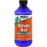 Silver Sol, 8 fl oz (237 ml), Now Foods
